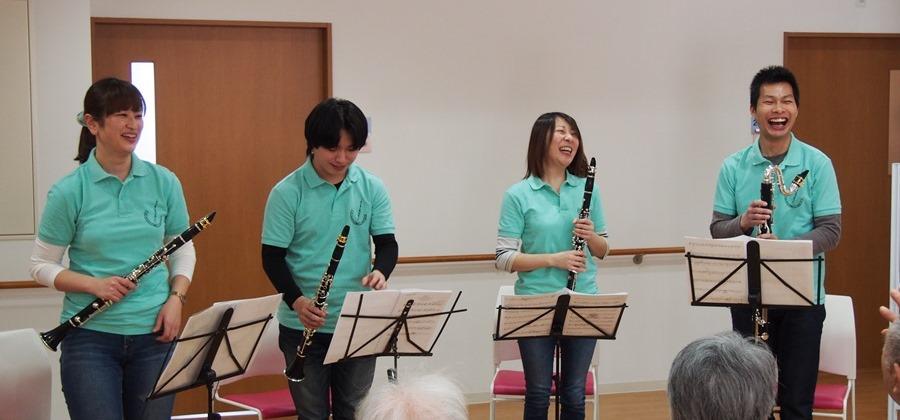 クラリネット・ミニ・コンサート